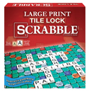 Large Print Tile Lock Scrabble®