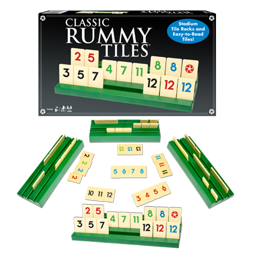 Winning Moves Games Classic Rummy Tiles